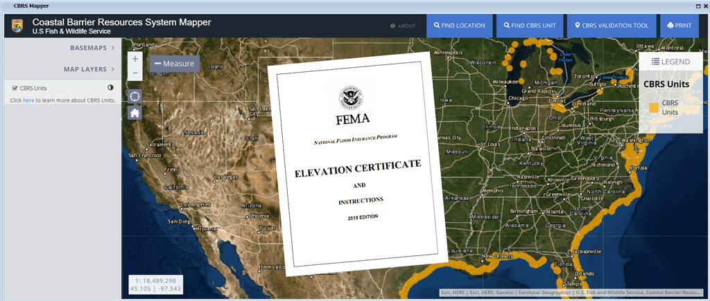 Fema Releases Elevation Certificate New Ver Date 02 24 2020