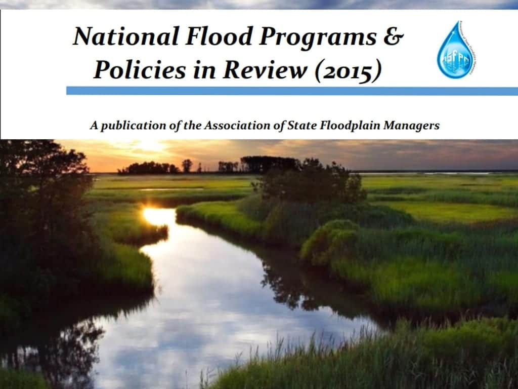 National Flood Programs & Policiies in Review 2015