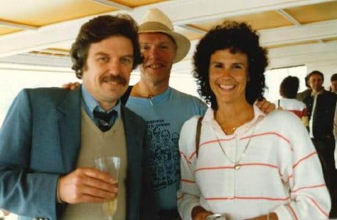 Jon Kusler, Larry Larson and Mary Lou Socia