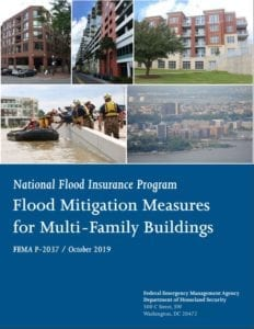 FEMA report cover - Flood Mitigation Measures for Existing Multi-Family Structures