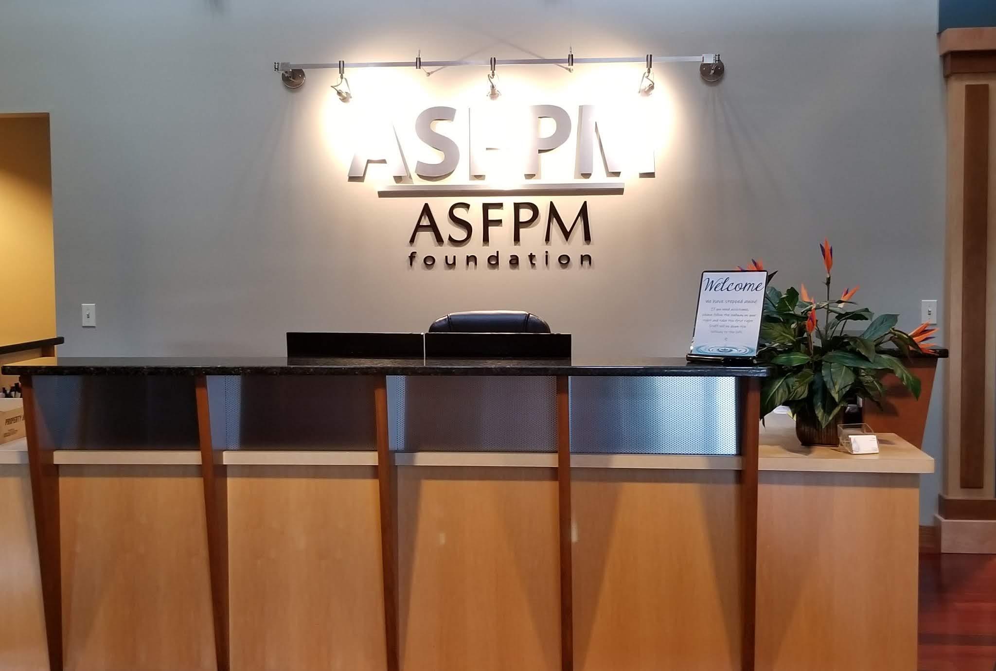 ASFPM Interior Deskarea