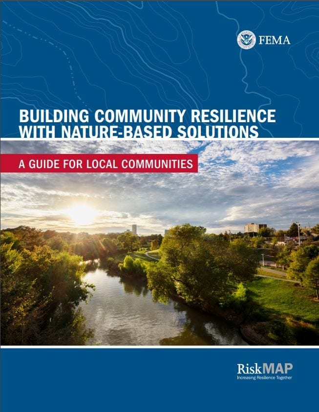 FEMA report cover - Nature-based solutions