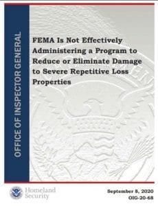 OIG report on FEMA