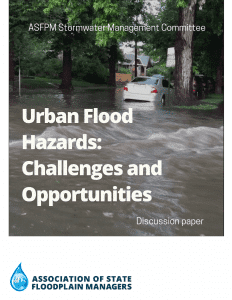 urban flooding discussion paper