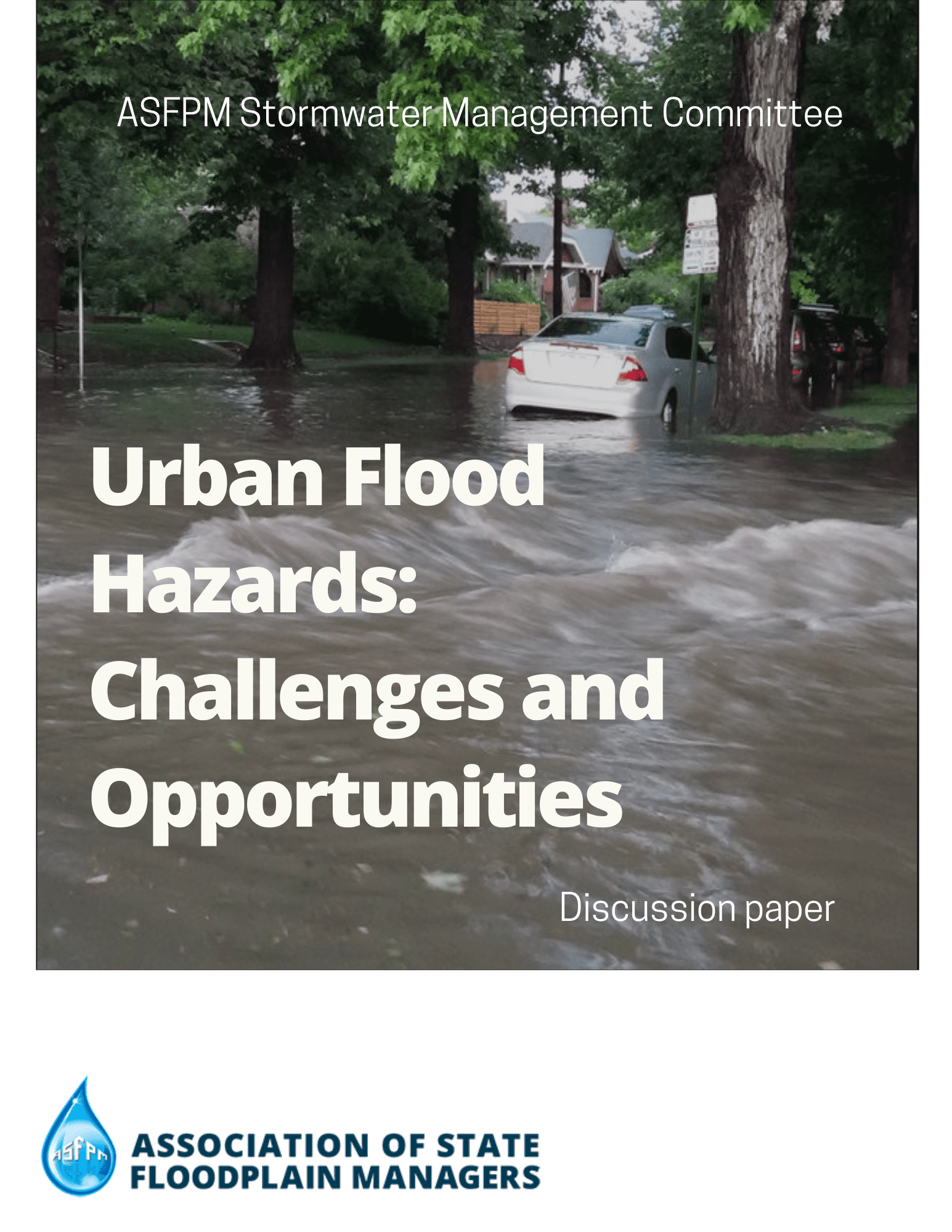 Urban Flood Hazards: Challenges and Opportunities Discussion Paper Cover