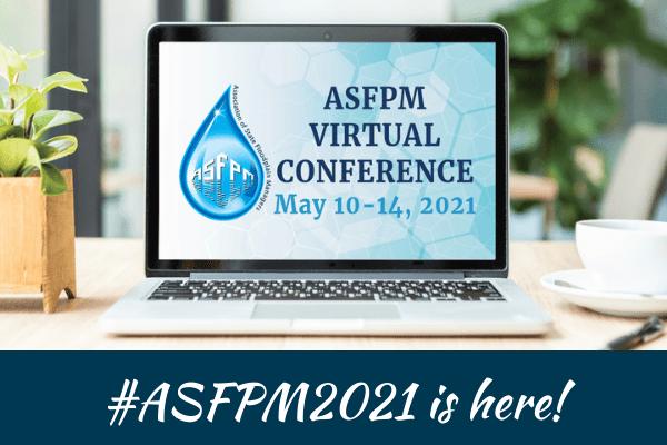 ASFPM Virtual Conference - logo and hashtag